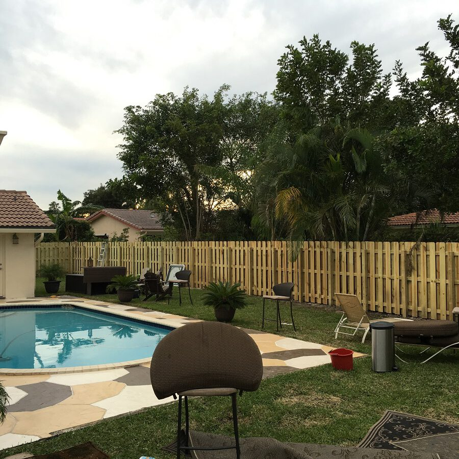 deerfield beach pool fencing installation