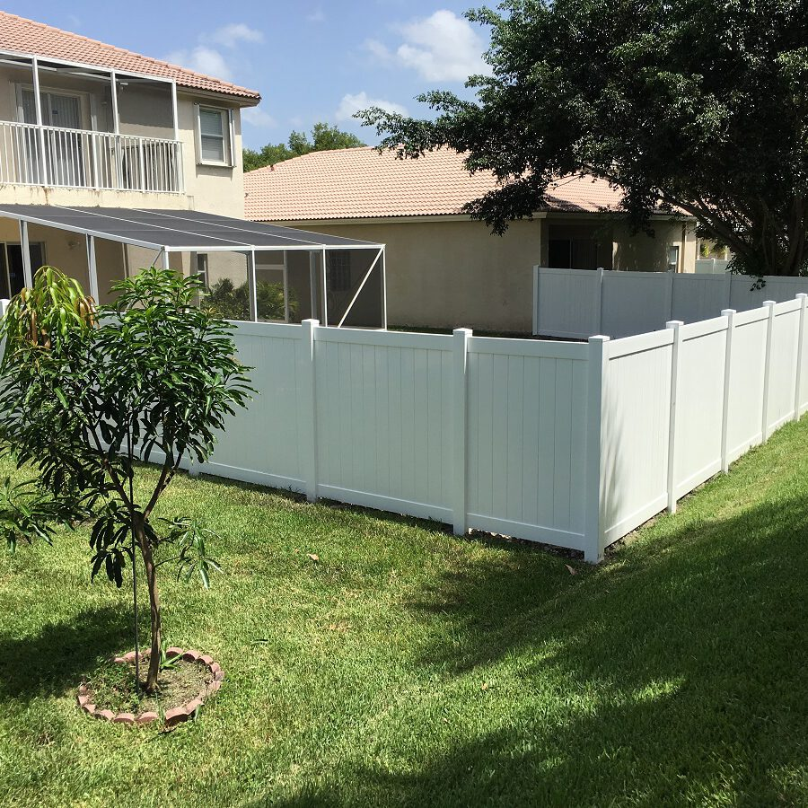 PVC fence contractors deerfield beach fl